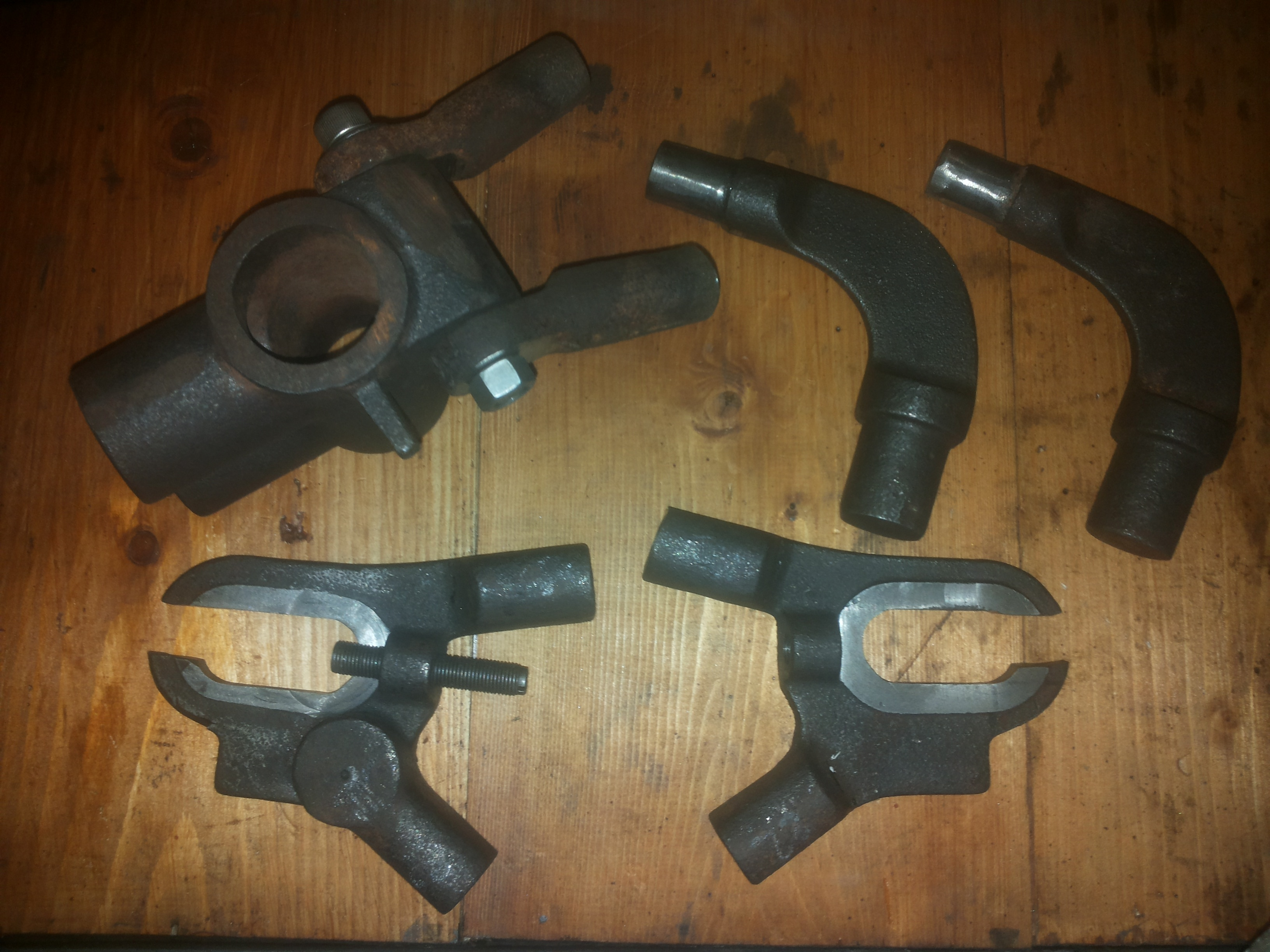 Incast parts (Abnormal Cycle frame Project)